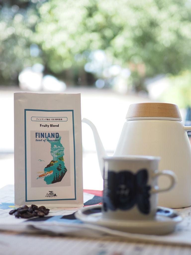 北欧の文化を身近に、フィンランド独立100周年記念コーヒー