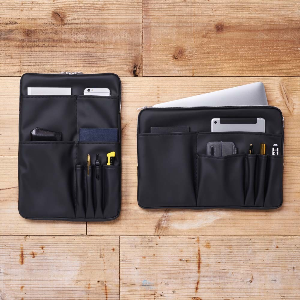 縦型と横型のバッグインバッグ